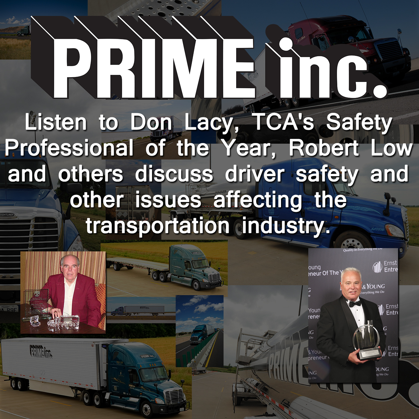 Prime Inc. Drivers Trucking Safety Podcast
